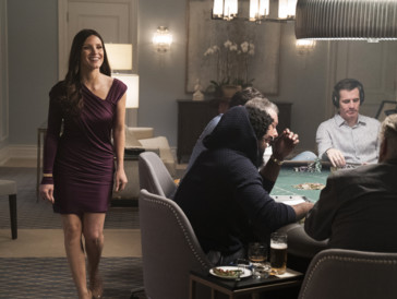 Brachte den nötigen Humor für die Rolle mit: Jessica Chastain in «Molly's Game»