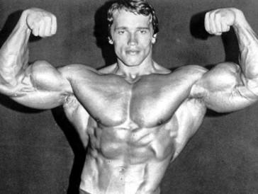 Arnold Schwarzenegger lief in den 70ern als Spitzen-Bodybuilder allen den Rang ab.