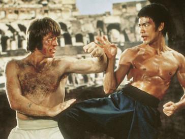 Für seine Filmrollen stellte sich Kampferfahrung als grosser Vorteil heraus.