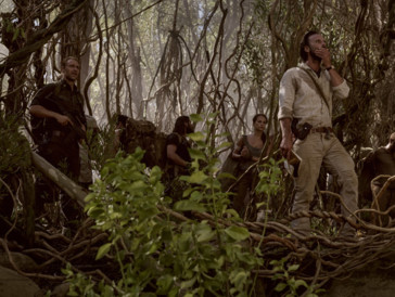 Vogel (Walton Goggins) et son armée