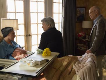An Krebs erkrankt: Eileen, die Frau von Norman Newlander (rechts im Bild).