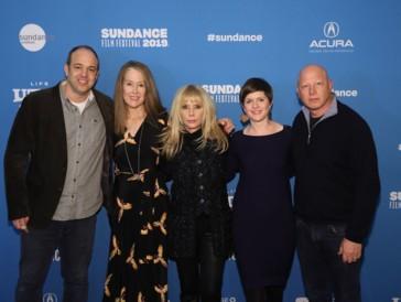Ursula Macfarlane (zweite von links) an der Premiere von «Untouchable» am Sundance Festival.