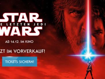 «Star Wars VIII: Die letzten Jedi» - Der Run auf die Tickets geht los!