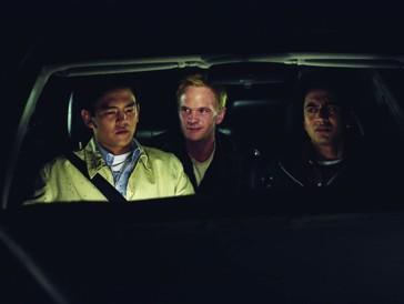 ...im Auto der Protagonisten platz.