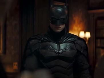Robert Pattinson dans The Batman (2021)