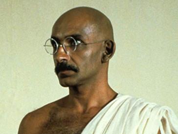 Ben Kingsley in «Gandhi» und...