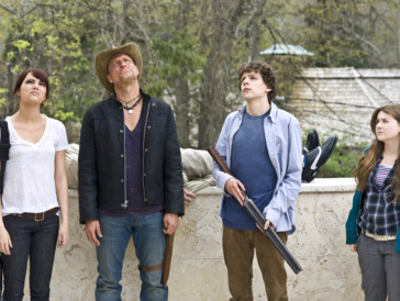 Diese vier Überlebenden treffen während einer Zombieapokalypse...