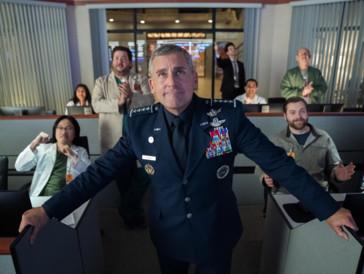 Netflix-Kritik «Space Force»: Steve Carrells kuriose Weltraumvision