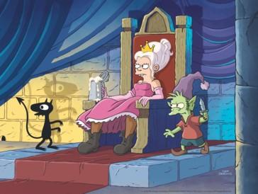 Prinzessin wider Willen: Bean ist nicht gerade begeistert ob ihrer adligen Position.