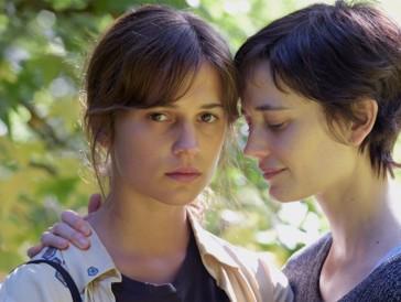 "Die Oscar-prämierte Alicia Vikander mit Filmpartnerin Eva Green in ""Euphoria"""