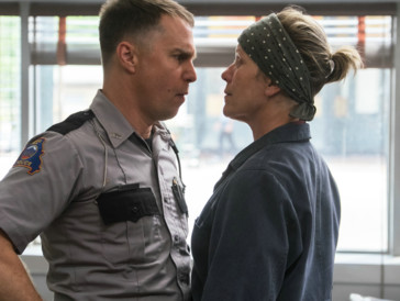 Haben beide Grund zur Freude: Sam Rockwell und Frances McDormand in «Three Billboards Outside Ebbing, Missouri»