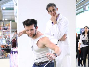 Sieht man nicht alle Tage: Professor Eich und Wolverine machen gemeinsame Sache.
