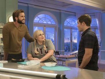 """Blake (Liam Hemsworth, links) findet Natalie absolut """"beguiling"""", was Natalie nicht wirklich in Begeisterungsstürme versetzt."""
