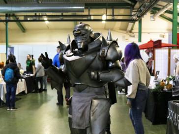 Mit seinem Auftritt als Alphonse Elric konnte dieser Cosplayer Fans des Anime «Fullmetal Alchemist» auf ganzer Linie überzeugen.
