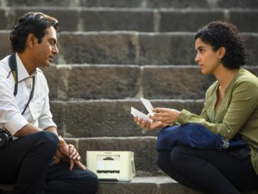 L'acteur et l'actrice Nawazuddin Siddiqui et Sanya Malhotra dans «Le photographe»