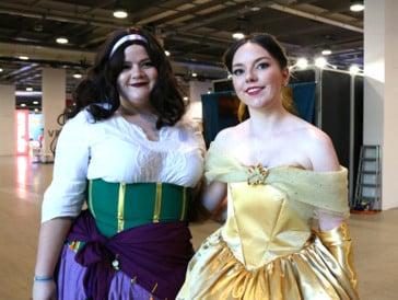 Auch Esmeralda und Belle hat es nach Basel verschlagen.