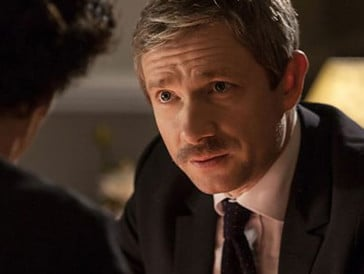 Mit dem klassischen Dr. Watson-Schnauzer konnte sich Freeman nicht anfreunden.