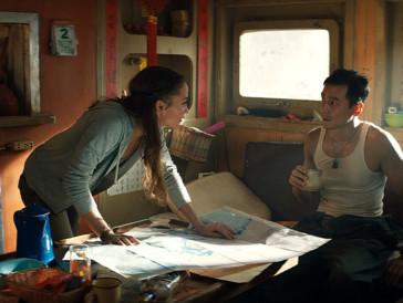 Alicia Vikander & Daniel Wu