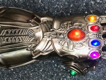 Der Infinity Gauntlet wartet noch auf den passenden Besitzer.