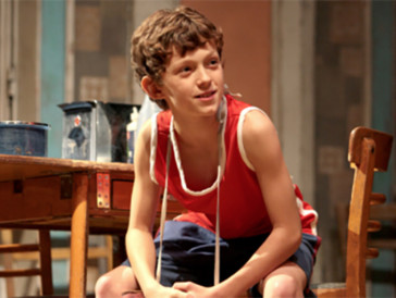 Seine ersten Schritte als Schauspieler: Tom Holland im Musical «Billy Elliott».