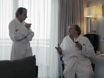 Houellebecq et Depardieu en thalasso à Cabourg