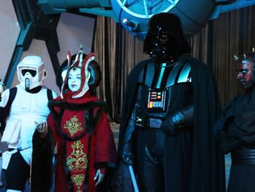 Imposant und elegant: die Fantasy Basel hält für «Star Wars»-Fans so einige Highlights bereit.