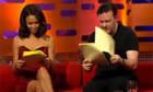 Ricky Gervais und Thandie Newton lesen Porno vor