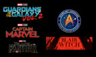 Guardians of the Galaxy Vol. 2, Captain Marvel, Black Panther, Star Trek und The Woods
