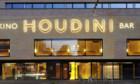 Brand im Kino Houdini