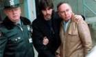 Two men protest against «Capturing The Friedmans»
