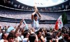Pictures: Diego Maradona