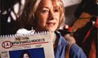 Helen Mirren en larmes
