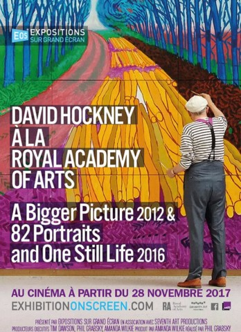 David Hockney à la Royal Academy of Arts
