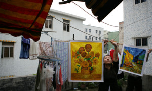 Made in China: Auf der Suche nach dem perfekten Pinselstrich