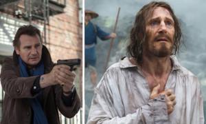 """Liam Neeson kennt man normalerweise als kräftigen Actionhelden wie zum Beispiel in """"96 Hours"""" (2008). In seinem neusten Film """"Silence"""" ist er aber kaum wiederzuerkennen: Weil Regisseur Martin Scorsese wollte, dass alle Hauptdarsteller etwas ausgehungert aussehen, musste er abnehmen. Er verlor 8 Kilo, was mit 64 Jahren sicherlich nicht unproblematisch ist."""