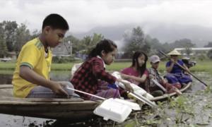 Le rêve des enfants du lac inle