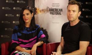 AMERICAN PASTORAL – Nous avons rencontré Ewan McGregor et Jennifer Connelly (vidéo).