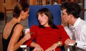 Frauen am Rande eines Nervenzusammenbruchs