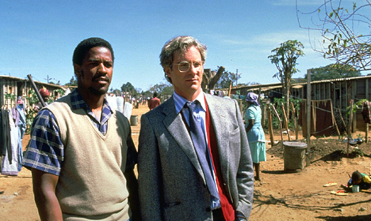 the portrayal of the apartheid in cry freedom a movie And the fact that south african apartheid was washington received a best supporting actor oscar nomination for his portrayal the movie, cry freedom.