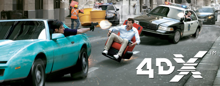 News: Im Schleudersitz: 4DX-Kino