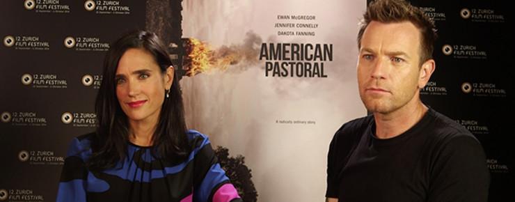 Interview: AMERICAN PASTORAL - Nous avons rencontré Ewan McGregor et Jennifer Connelly (vidéo).