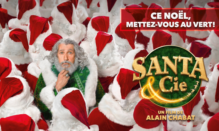 SANTA & CIE – Avant-première à Lausanne (en présence d'ALAIN CHABAT)